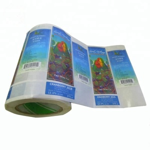 Personalised Sticker Printing Paper Roll Custom Wine Label Maker