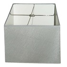 Square silver color waterproof lamp shades