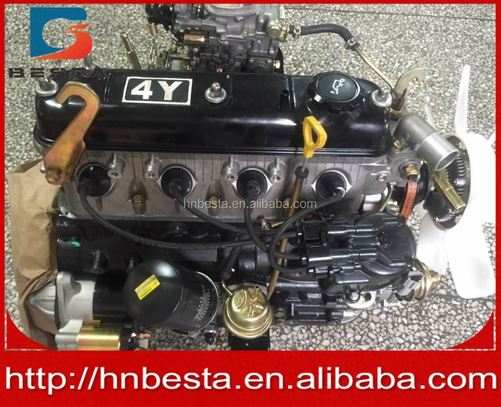 toyota 4y engine COMPLETE 491Q Gasoline engine with carbureter