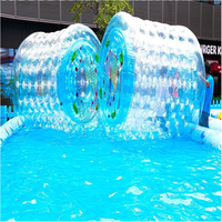 aqua park hot sale Inflatable roller zorb ball