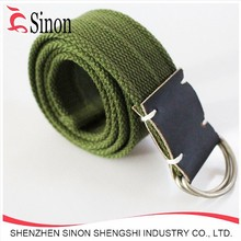 Expedition Type with D-Ring Closure Bright Color Military fabric Web Belt