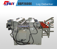 BBP2600E Wood Log Debarker Machine with CE Certificate