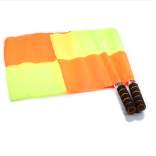 Soccer Classic Rotating Regulation Flags For Sports Equipment Referee Flags