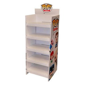 Eye Catch Plush Toys Rack Stand Cardboard Custom Store Promotion Paper Display Shelves For Toy