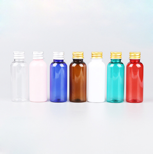 Customized squeeze 30ml clear plastic PET bottle