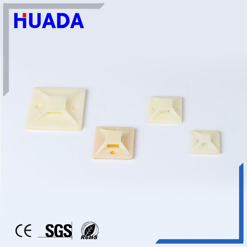 Huada nylon66 Self-adhesive cable tie mounts