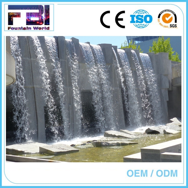 Ornaments Outdoor graphical water curtain digital water design