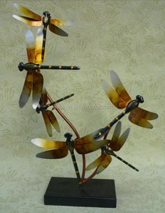 cast iron dragonfly figurine