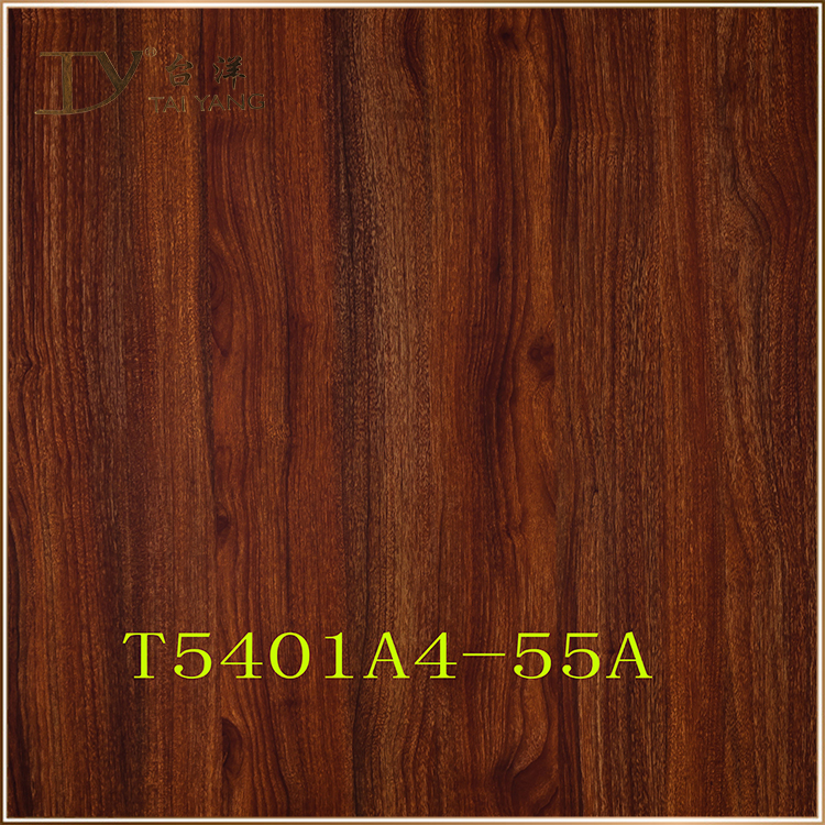 2017 lamination panels self adhesive wood grain vinyl film T5401A4-55A