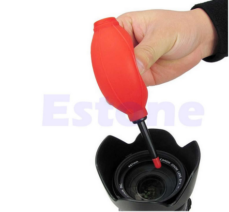 Più nuova Gomma Air Blower Pompa Dust Cleaner Per Camera Lens CCD CMOS LCD Orologio