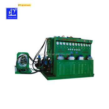 The Relief Valve Pressure Characteristic Curve Test Bench