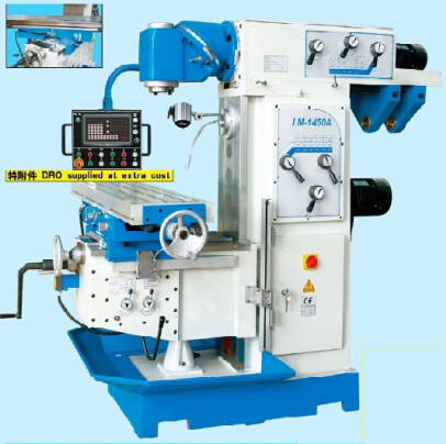 Universal swivel head vertical and horizontal milling machine LM1450A