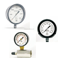 Winters Pressure Gauges With Electrical Contacts