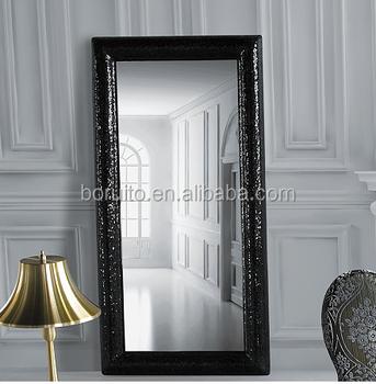 Specchio Bagno Cornice Argento.Di Grandi Dimensioni Pu Home Decor Specchio Da Parete Con Cornice