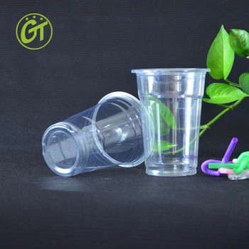 Biodegradable Pp Boba Cups For Coco Bubble Tea Wholesale Transparent  Plastic Cup For Milkshake Custom Logo Design Disposable Cup - Buy Cups For  Coco
