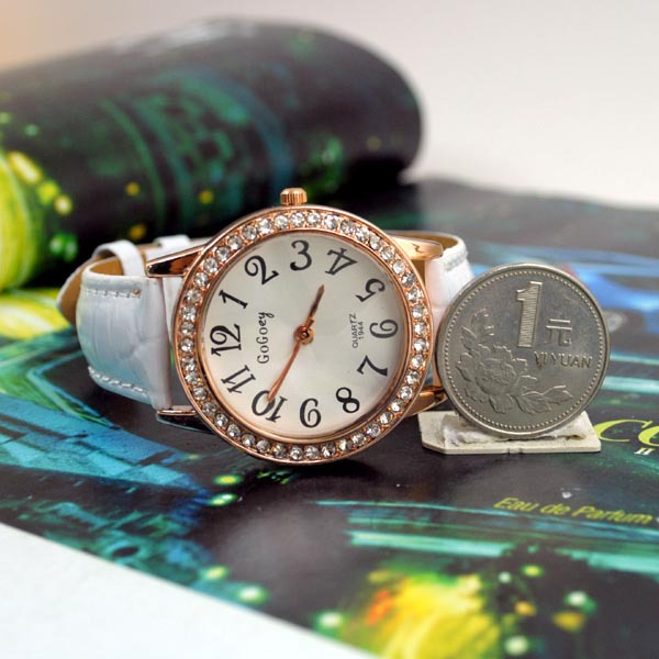 Роскошь подарок часы платье женщины горный хрусталь часы кварцевый часы молодая час женщина марка наручные часы