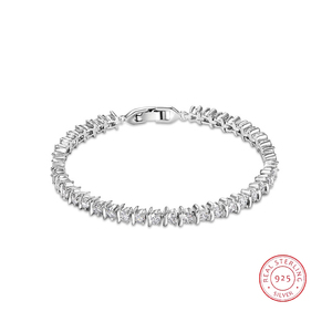Jewelry Braided Friendship Bracelet Sterling Silver Wedding Bangle Wholesale