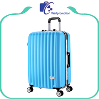 china cheap custom colorful fancy hardshell wheeled luggage
