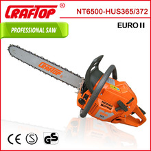 chain saw wood cutting machine 65CC 3.4kw HUS365
