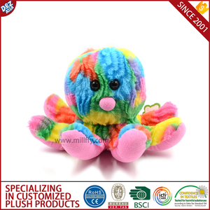 pink octopus plush toy tourist bahamas souvenirs