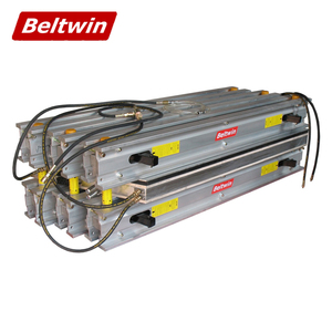 Beltwin sectional type hot joint press for vulcanization splicing in rubber conveyor belt