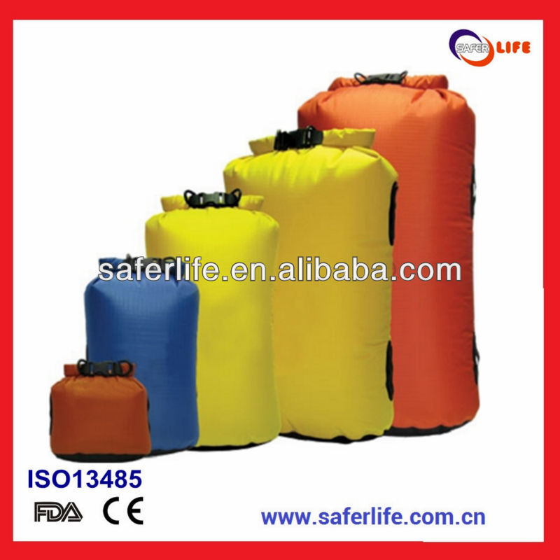 2015 swimming pool water disaster saving utdoor first aid emergency waterproof dry bag kit gift promotion