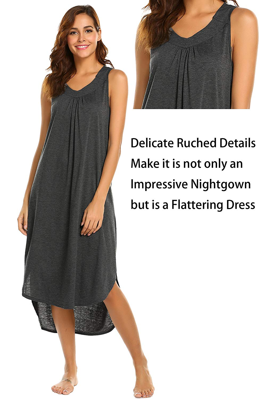 Get Quotations · Ekouaer Long Night Dress dd706b94c