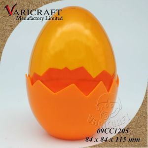 100% Food Grade Clear plastic egg shaped container / giftbox