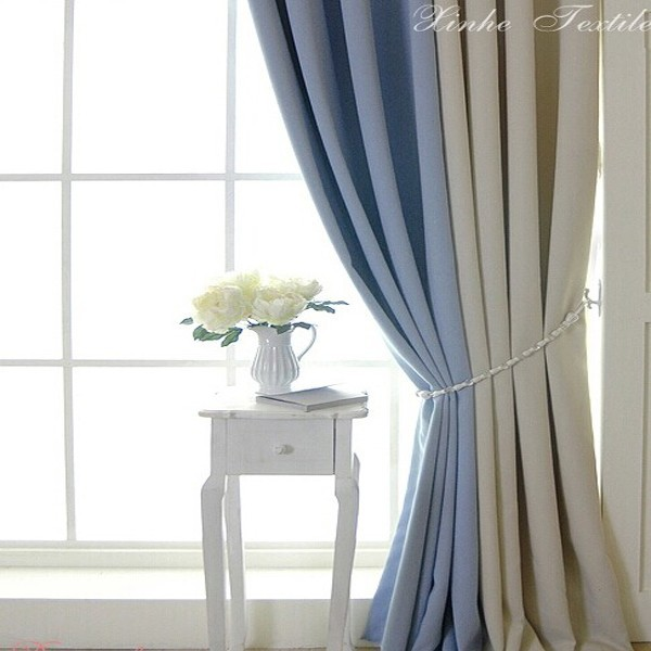 Cheap Price Smooth Soft Drapes Curtain Interior Design For Living Room