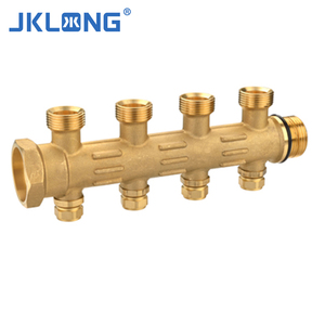 T1188 Forged brass manifolds 4 way brass fittings