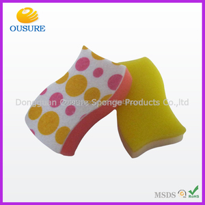 Top in Europe! colorful kitchen cleaning sponge pot scourer