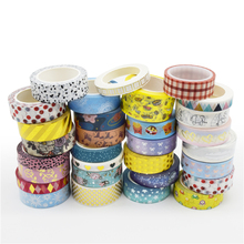 2019 Hot Populaire Gratis Monsters Lage MOQ 50 Rolls/Ontwerp Custom Maak Gedrukt Washi <span class=keywords><strong>Tape</strong></span> Set met TOP3 Washi fabrikant China
