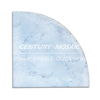 home decoration marble living room corner wall shelves for bathroom