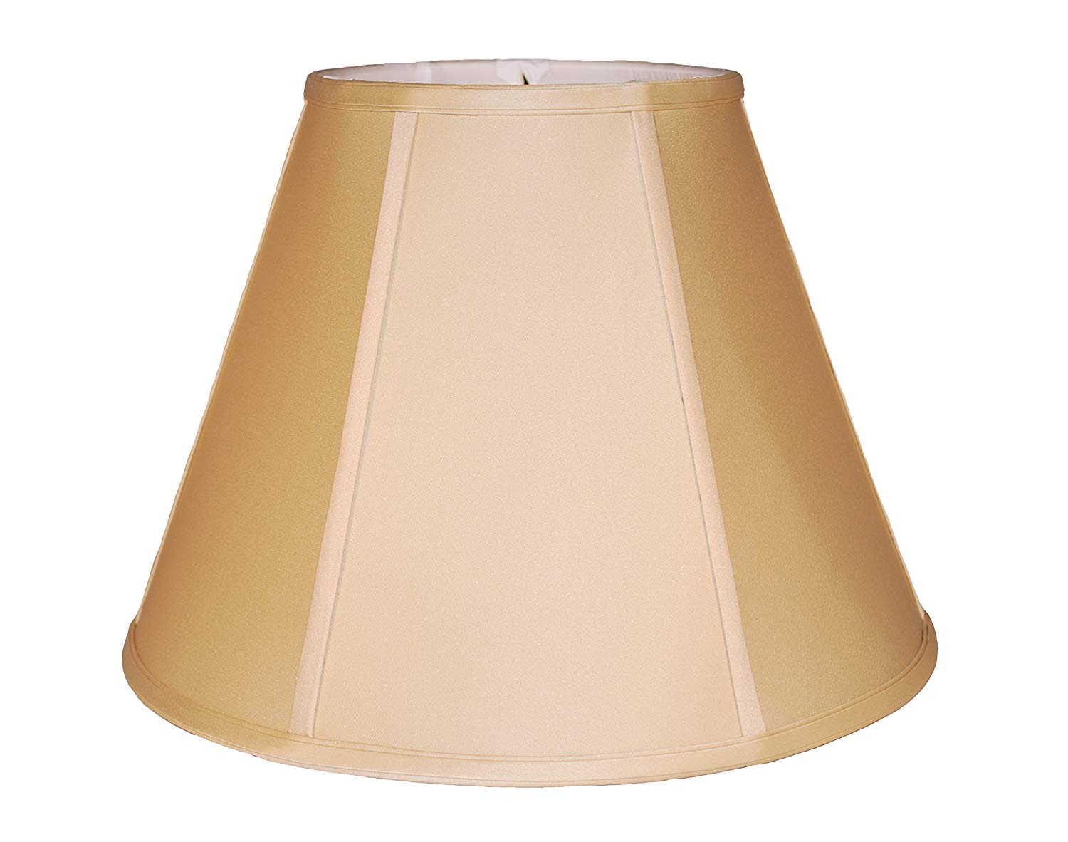 "16"" Anna beige empire silk lamp shade"
