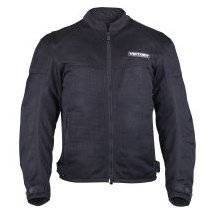 Victory Motorcycle Mens Black Lite Mesh Jacket- Xlarge