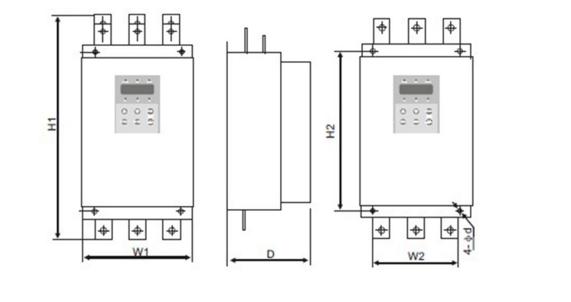 ac three phase soft start motor controls 90kw mms - manual motor starter  soft /free