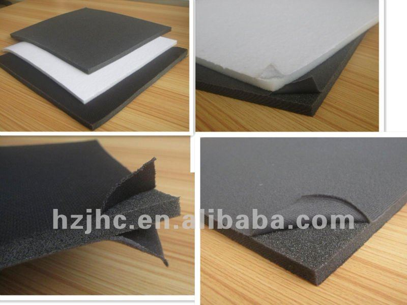 Eco-friendly waterproof breathable cotton laminated foam