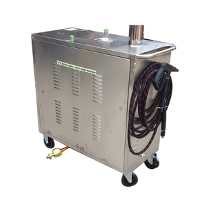 LPG gas heating steam cleaning machine high pressure water cleaning machine