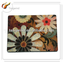 Supply flower cork coaster and placemat