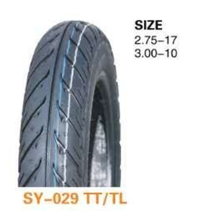 China motorcycle tyre 3.00-10 for export