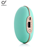 Hot selling Portable electric heater 18650 battery space hand warmer with vibration massager for winter heating