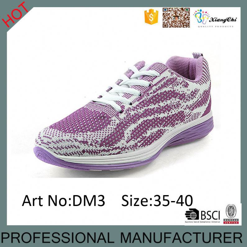 New Models Woven Materials Athletic Casual Sport Shoes for Ladies