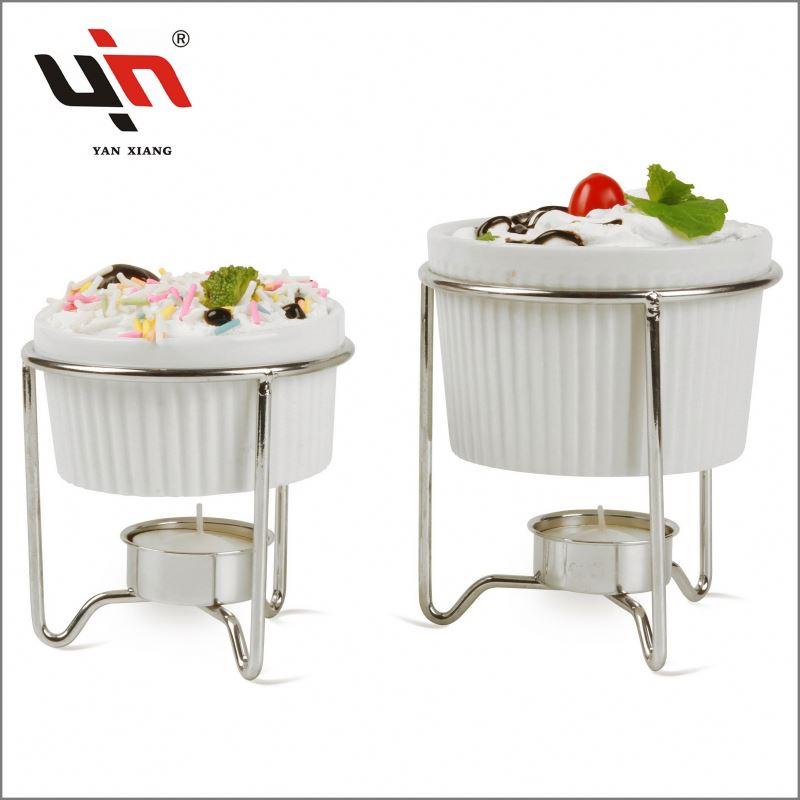 Hot Sales Ceramic Butter Warmer Set