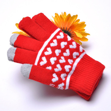 Wholesale New Winter Knitting Glove Keep Warm Touch Screen Gloves For Cell Phone