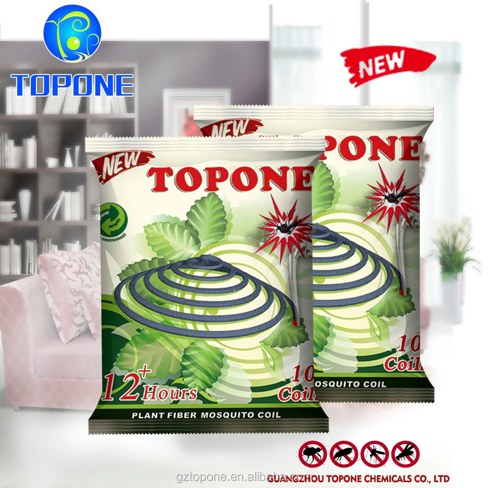 2017 TOPONE HOT SELL plant fiber mosquito paper coil