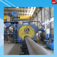Steel Pipe External Shot Grinding Machine/Steel Pipe Wheel Blasting Machine Price
