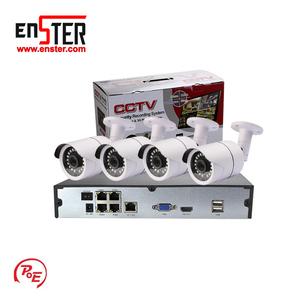 New Product Hd 1080p Waterproof Night Vision CCTV Security Poe 4ch NVR Kit