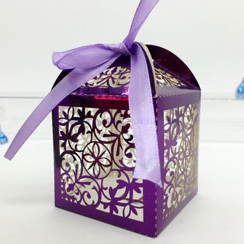 New Products Decorative Wedding Gift Bo Souvenirs Party Favor Chocolate Window Candy