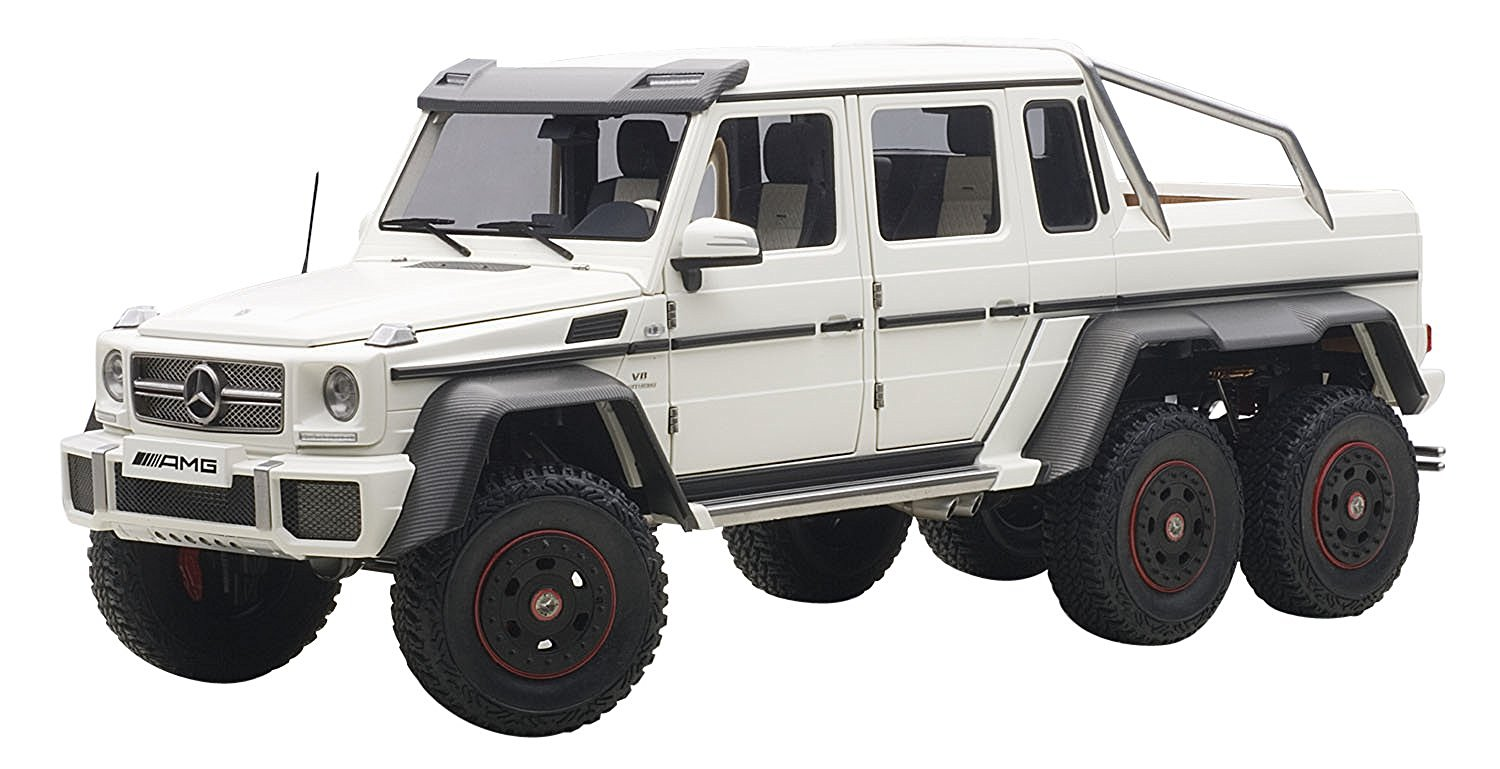 Buy 1 18 Mercedes Benz G63 Amg 6x6 Matt White 76303 In Cheap Price On Alibaba Com