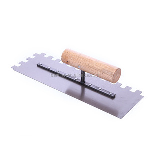 Construction concrete plastering power mason trowel to smooth floor
